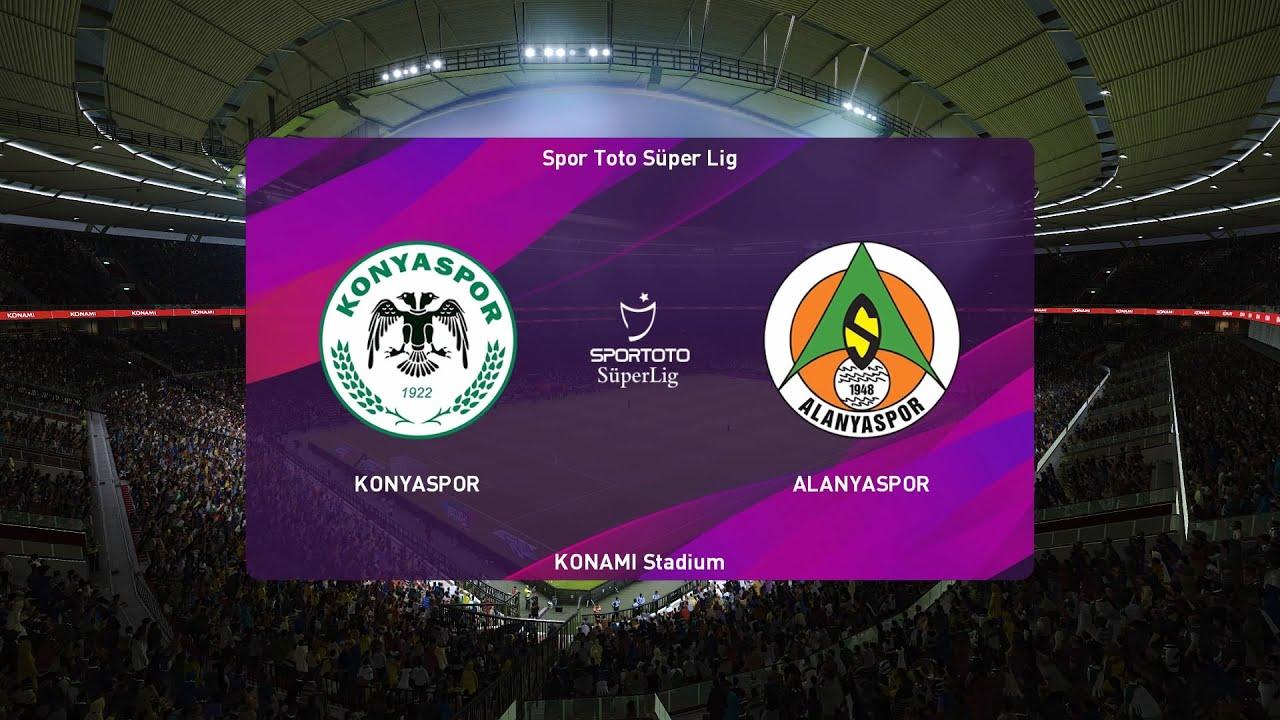 PES 2020 | Konyaspor vs Alanyaspor - Super Lig