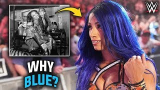 The Actual Reason Why Sasha Banks Was FORCED To Return With BLUE HAIR & Turn Heel On Becky - WWE