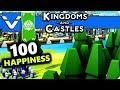 Kingdoms and Castles: 100 Happiness   Gameplay / Let's Play   Part 9
