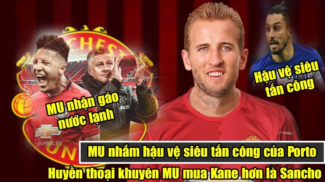 🔥MU nhắm hậu vệ siêu tấn công của Porto   Paul Scholes khuyên MU mua Harry Kane hơn là Jadon Sancho