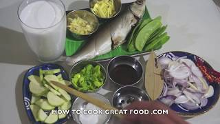 Asian Fish In Coconut Milk Recipe
