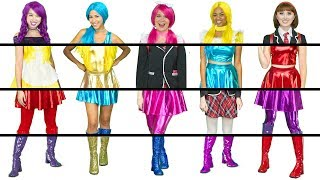 THE SUPER POPS CLOTHES SWITCH UP MYSTERY BOX CHALLENGE Totally TV Videos for Teens