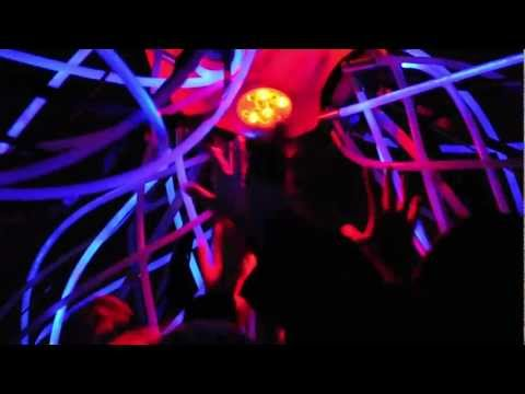 Interactive creature Liquid Space dancing at Chopin Year