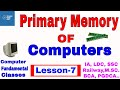 Primary memory management in computer | Fundamental CLASS 7