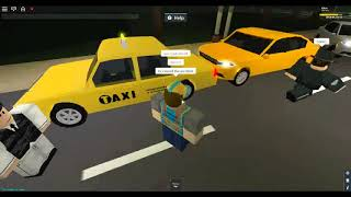 [Roblox] DOT Employee Cuts me off and Accuses me of Obstruction State of Firestone