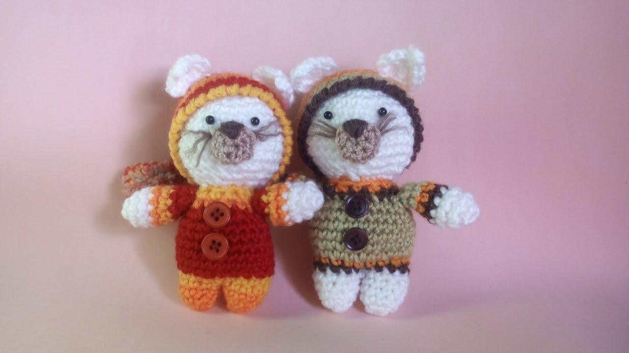 Gattino Uncinetto - Amigurumi Tutorial - Kitten Crochet ...