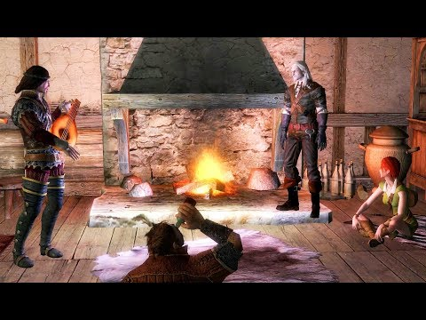 THE WITCHER - Party In Shani's House With Zoltan And Dandelion (Old Friend Of Mine)