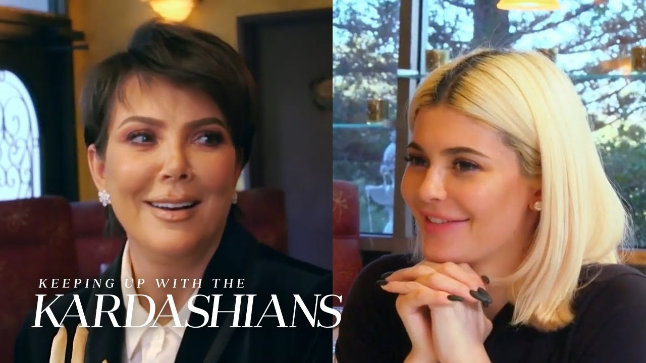 Kendall and Kylie Jenner Give Kris Time To Relax | KUWTK | E!