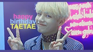 Happy Birthday Taehyung Thank You For 2k Subs
