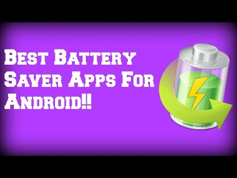 Best Battery Saver Apps For Android!!!