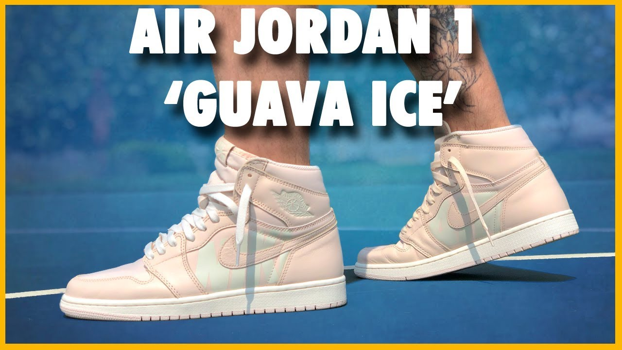 2ae94d9cb5ae92 AIR JORDAN 1 HIGH OG  GUAVA ICE
