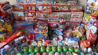 386 Surprise Eggs Kinder Surprise Collection