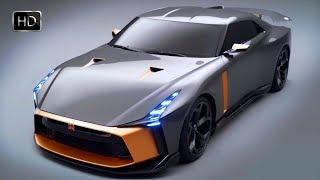 2018 Nissan GT-R50 Italdesign Concept 3.8-liter V6 VR38DETT 710 Horse Power HD