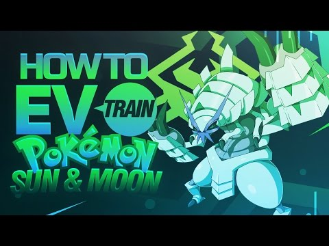 How To EV Train Your Pokemon In Sun and Moon!
