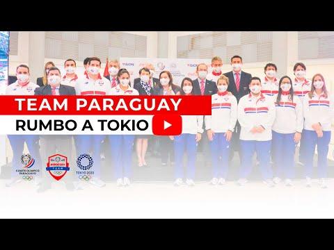 Team Paraguay rumbo a Tokyo