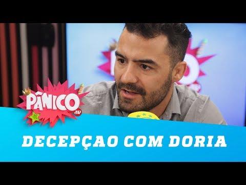 """Arthur do Mamãe Falei explica """"decepção"""" com Doria"""