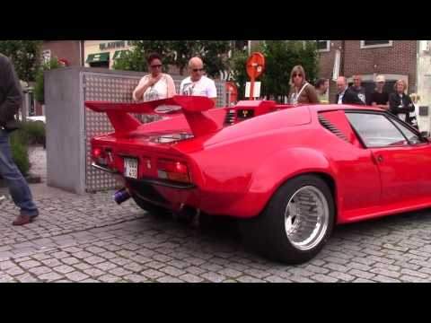 De Tomaso Pantera Arriving And Leaving Cars & Coffee