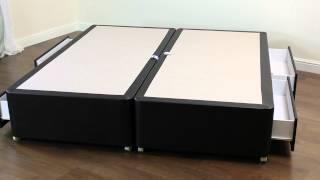 Amber Divan Bed Base   6ft Super King Size