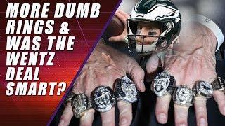 Patriots Final Ring Ceremony (guaranteed) Eagles Sign Carson Wentz