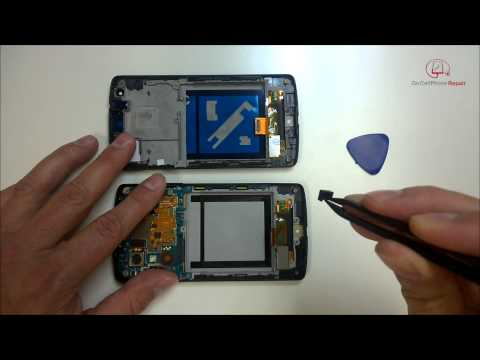 Nexus 5 Screen Replacement and Tear Down