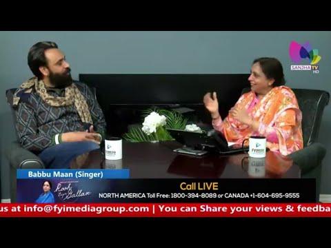 Babbu Maan   Latest Interview   Sanjha TV...