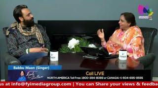 Babbu Maan | Latest Interview | Sanjha TV | Canada