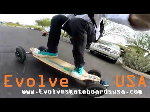 The Best Electric Skateboard Ever mADE, Evolve Skateboards US  YouTube