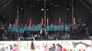Sutton Coldfield Tuneless Choir 'Concert in the Park'