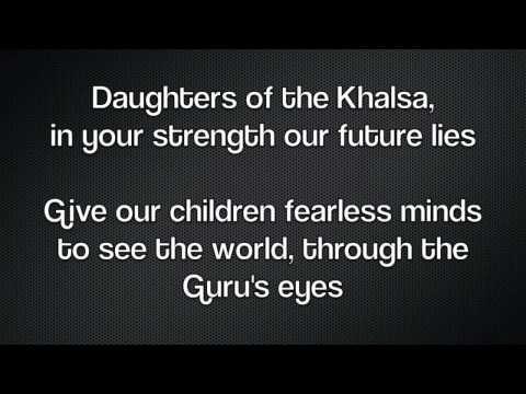 Song of the Khalsa - Best Version - with Lyrics - Sikh American Anthem