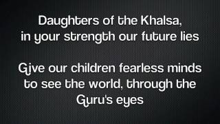 Song of the Khalsa - Best Version - with Lyrics - Sikh American Anthem