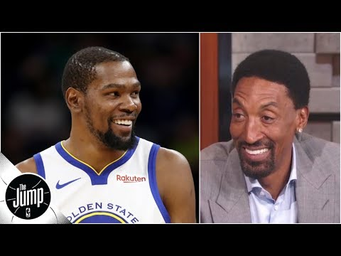 Scottie Pippen 'not buying' Kevin Durant to Knicks: 'Why would KD even leave?' | The Jump