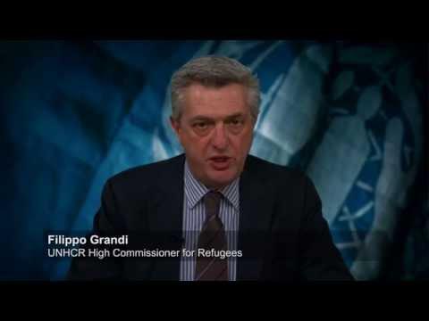 UN refugee chief's message on World Refugee Day 2016
