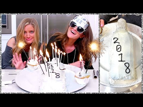Making a New Years Champagne Cake!