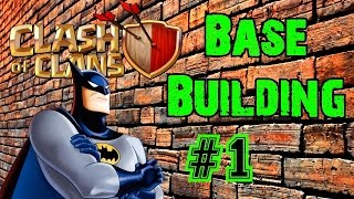The AMAZING Batman Base!▐ Clash of Clans Base Building [1]