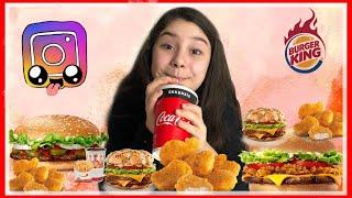 Hamburger Mukbang | Hakkımda En Çok Merak Edilenler - Eğlenceli Video