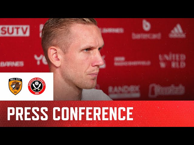 Robin Olsen | Hull City v Sheffield United | Pre-match Press Conference