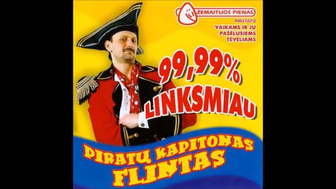 kapitonas flintas piratu manksta mp3