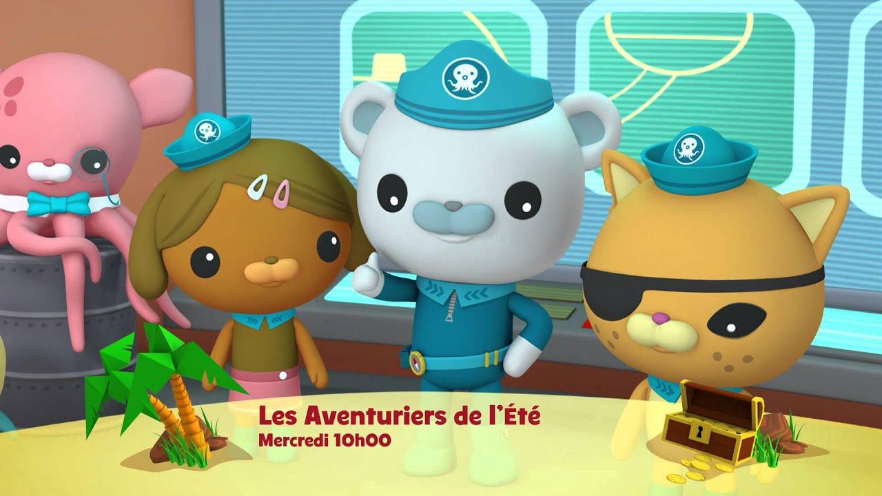 Les Vacances De Disney Junior Les Octonauts Mercredi 1 Aout A