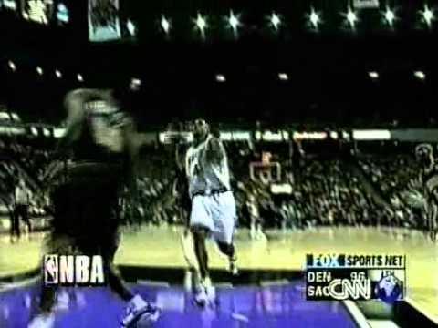 Jason Williams Leaves No-Look Pass for Chris Webber