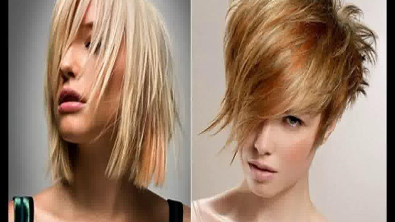 Corte de pelo desflecado de mujer