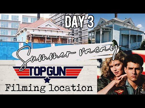 Seeing the real Top Gun house in Oceanside!