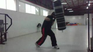 saco de boxeo, boxing bag ,sac de frappe kick boxing training