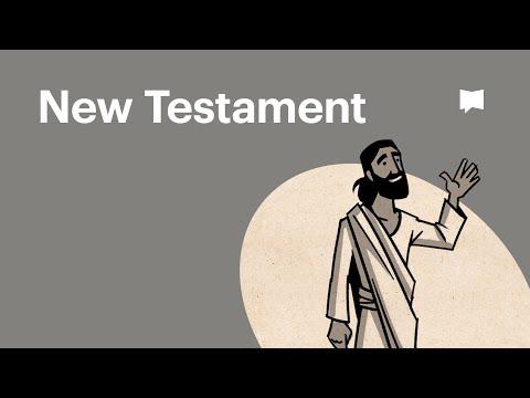 Tổng quan về Sách Kinh Thánh Tân Ước