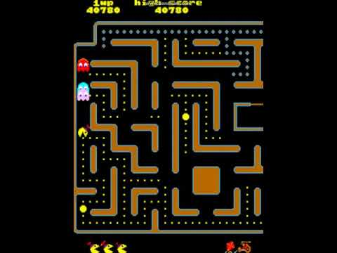 Jr Pac Man 1st 3 Levels Over 83,000 Points