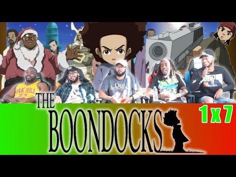 "Download The Boondocks 1 x 7 Reaction! ""A Huey Freeman Christmas"""