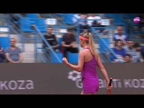 2017 Istanbul Cup Semifinals | Elina Svitolina vs Jana Cepelova | WTA Highlights
