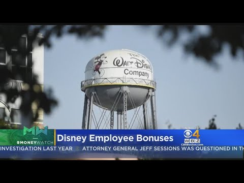 Disney Employees Get Bonuses Due To New Tax Law