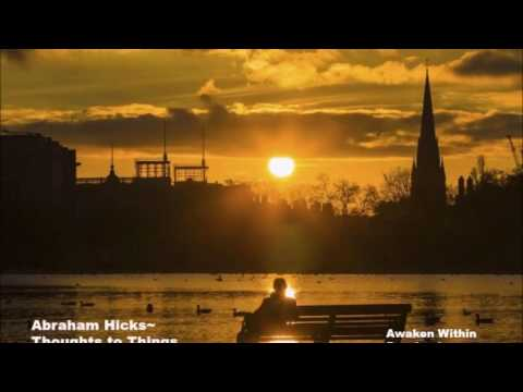 Abraham Hicks~ In a room by yourself? ~ Think again~flow with us NO ADS