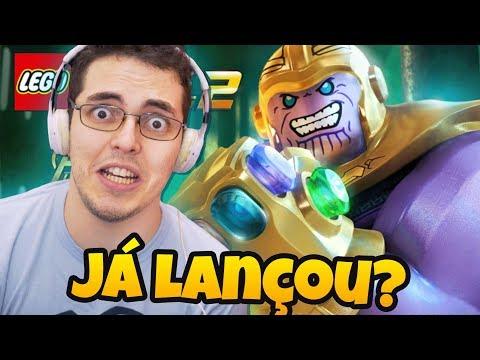 LEGO MARVEL SUPER HEROES 2 - A DLC GUERRA INFINITA JÁ LANÇOU!?