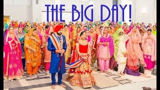The Big Day! Manreet weds Sumeet | Punjabi Sikh Wedding Calgary